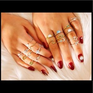 🌸5 for $15🌸 beautiful ring set
